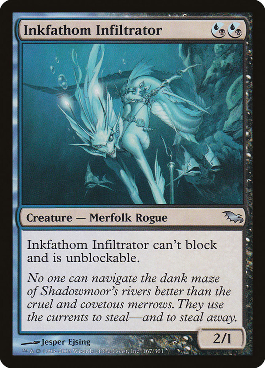 Top 10 Unblockable Cards in Magic: The Gathering