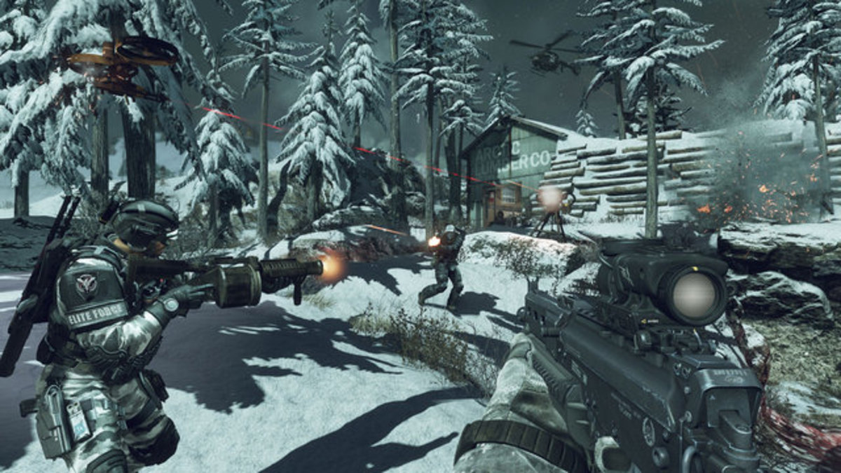 """Field orders are challenges players can complete in """"Call of Duty: Ghosts,"""" multiplayer. Players can start field orders by picking up the blue cases dropped by the first player that dies."""