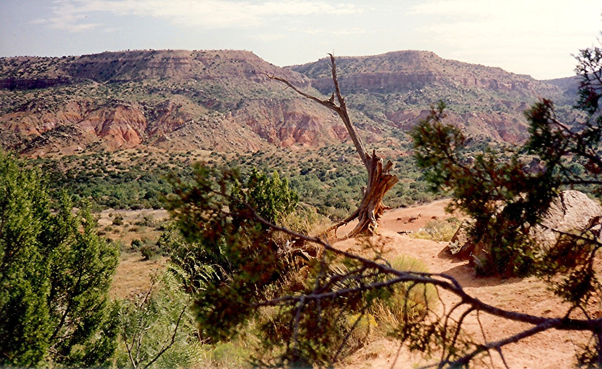 "Palo Duro Canyon State Park,  the ""Grand Canyon of Texas"""