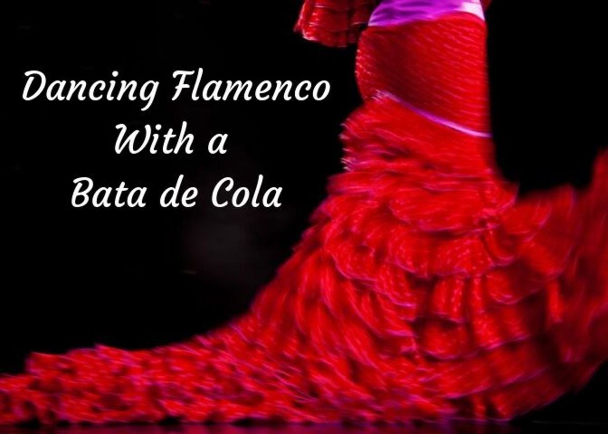 Choreographing flamenco with a bata de cola is difficult, but it is beautiful and worthwhile.