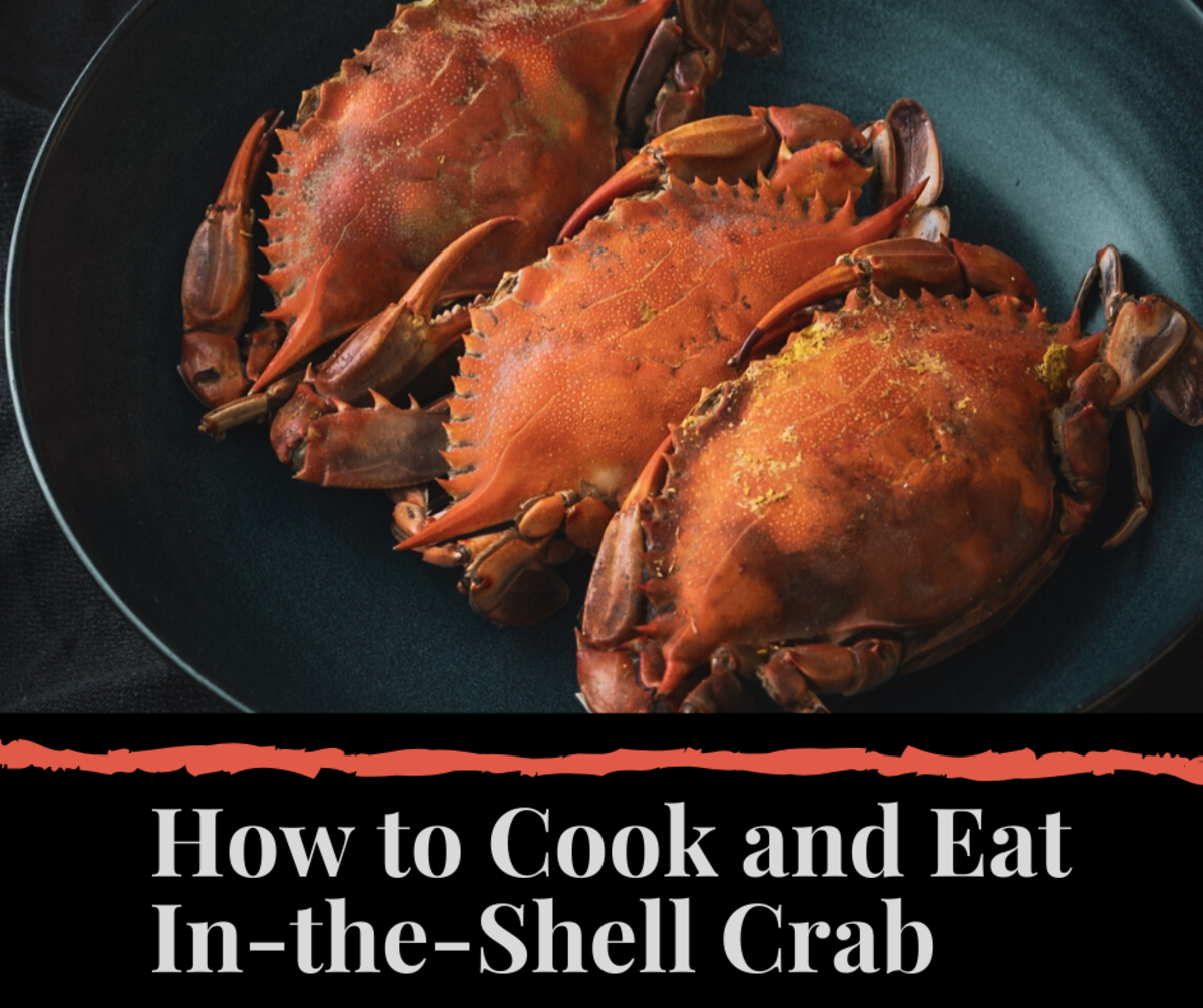 Crab is one of my favorite foods. Read on to learn the basics of how to cook it correctly.