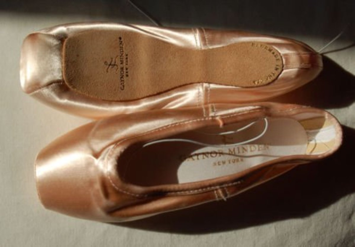 Gaynor Mindens - the lazy dancer's pointe shoe?