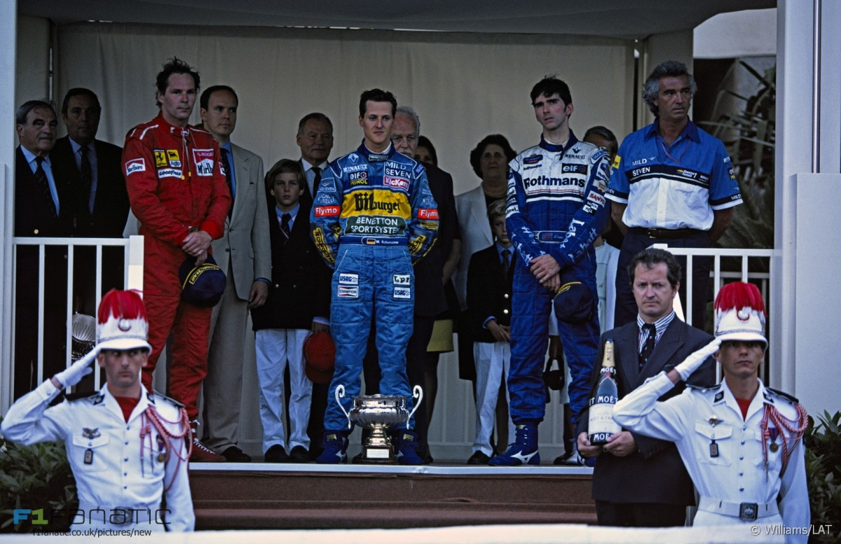 The 1995 Monaco GP: Michael Schumacher's 13th Career Win