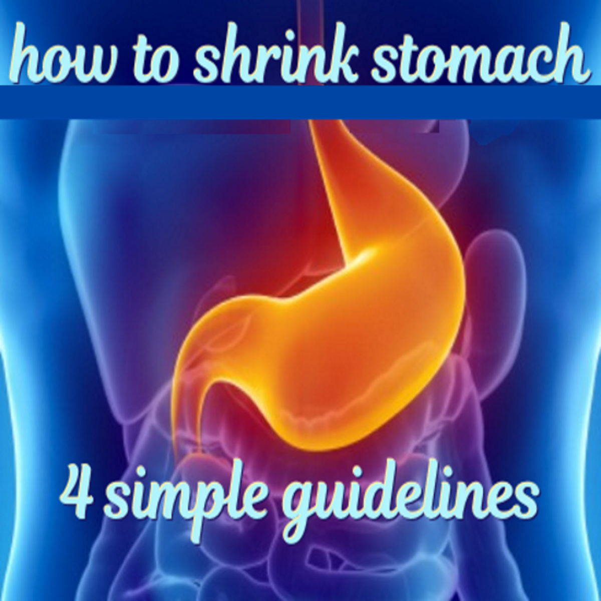 How to Stop Feeling Hungry - 4 Guidelines to Shrink Your Stomach Size Naturally