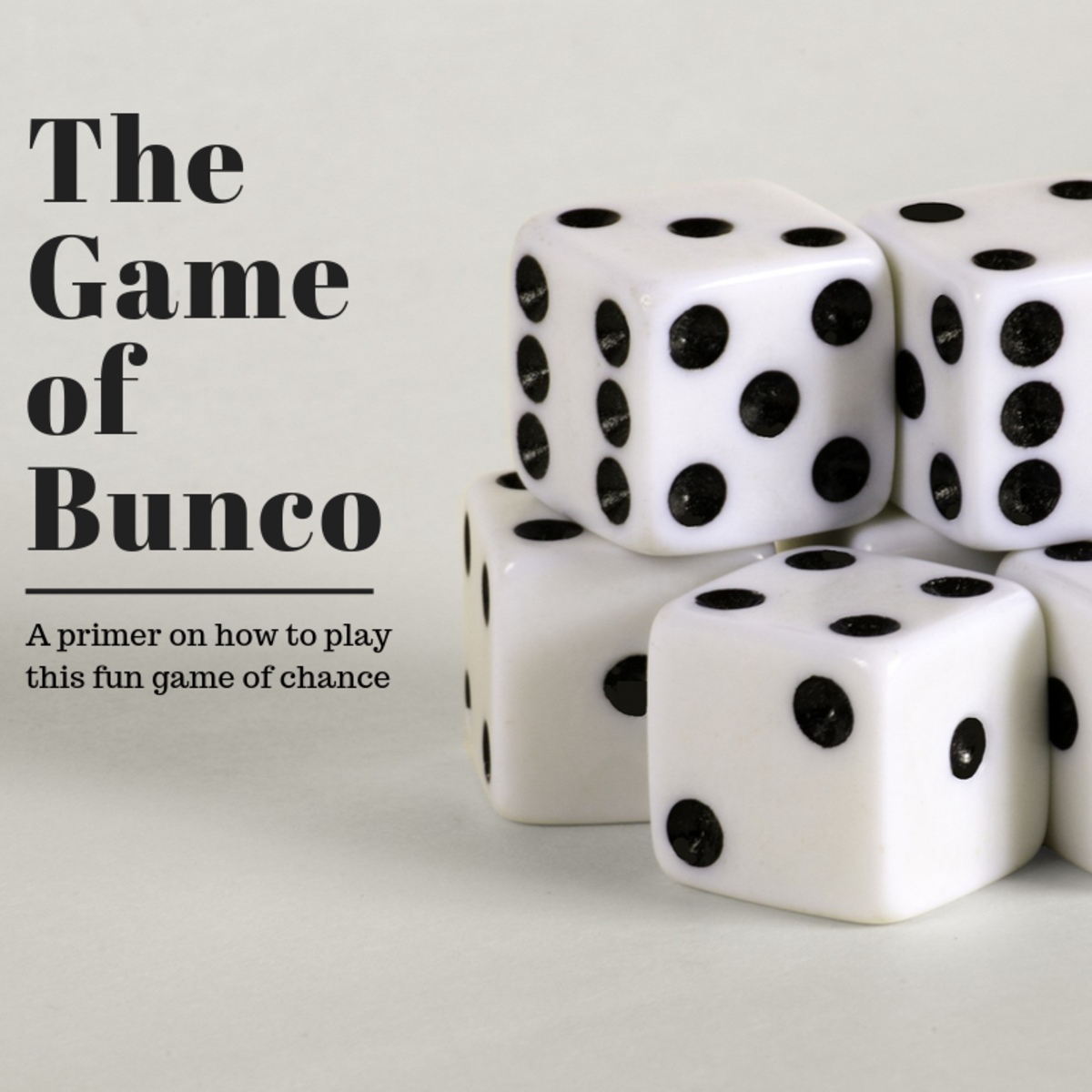 This guide will show you how to play the dice game of Bunco and breaks down some of the strategy.