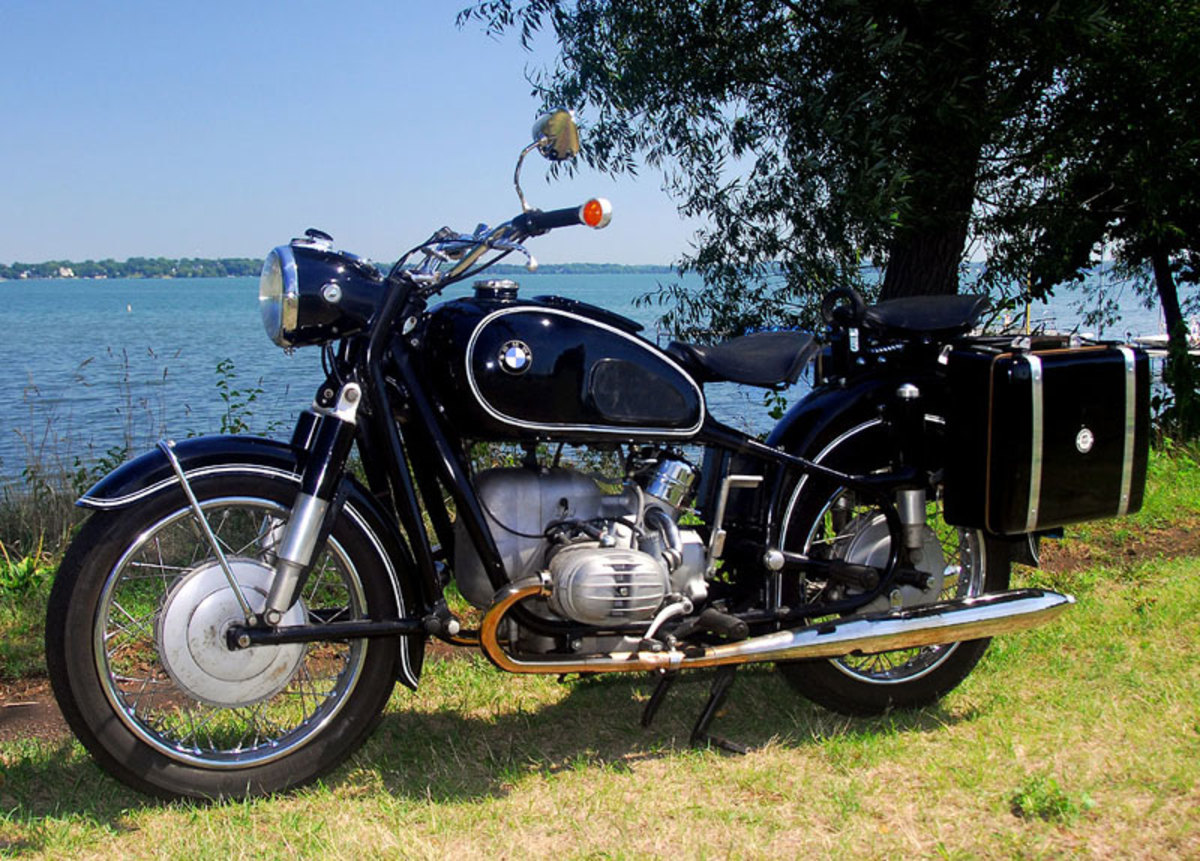 Top 10 Coolest Vintage German Motorcycles