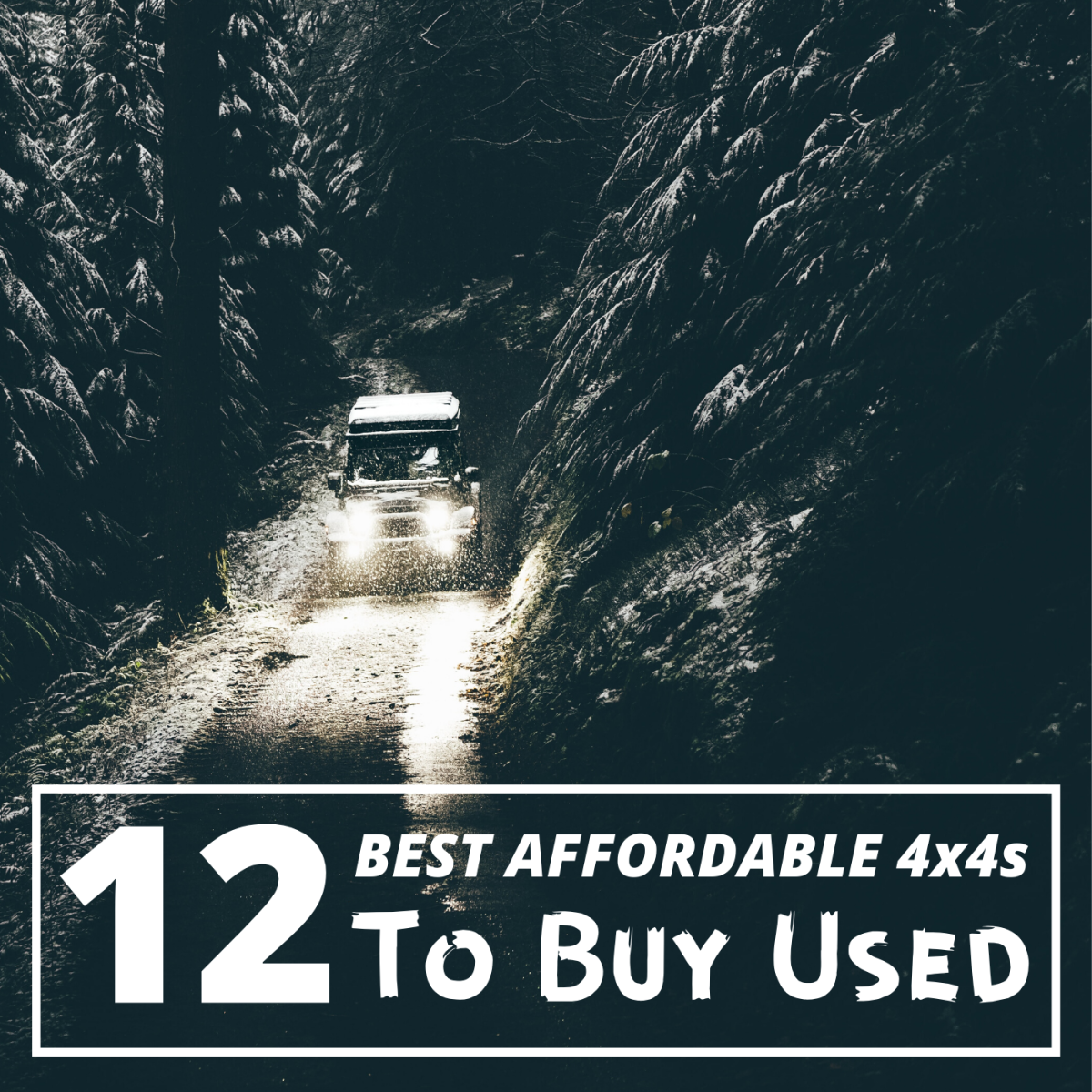 If you're looking for an affordable used 4x4, consider these 12 vehicles. Each has something different to offer.
