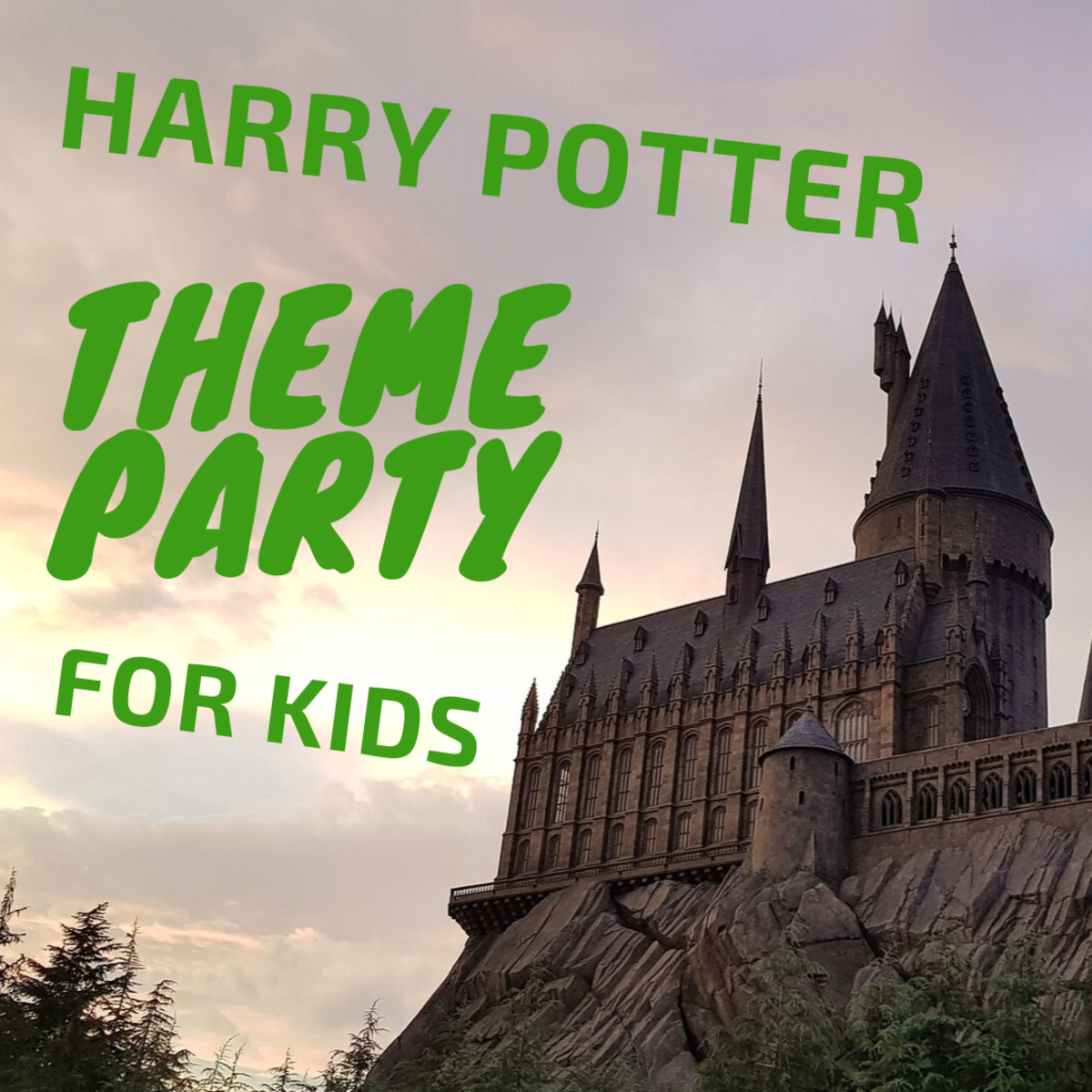 Harry Potter Theme Party for Kids