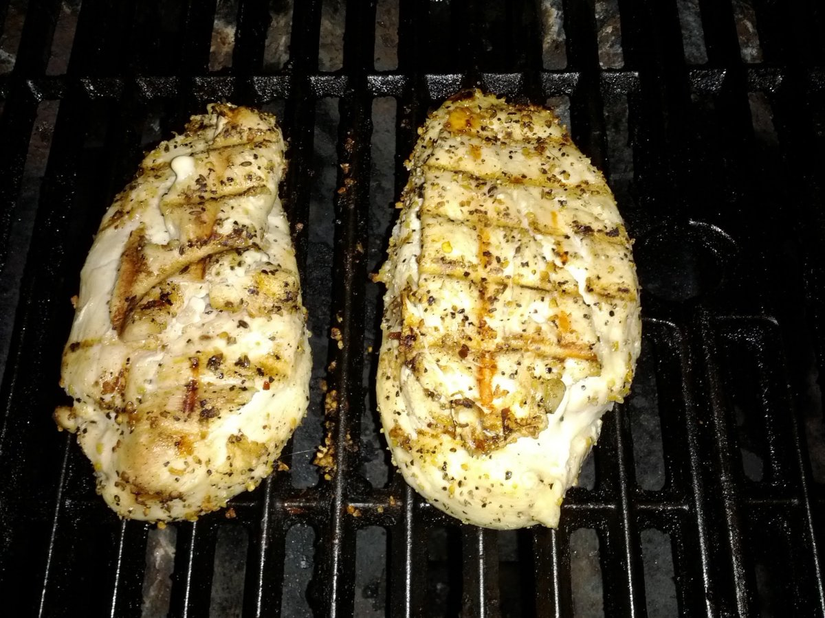 Beer Brined Chicken Breasts