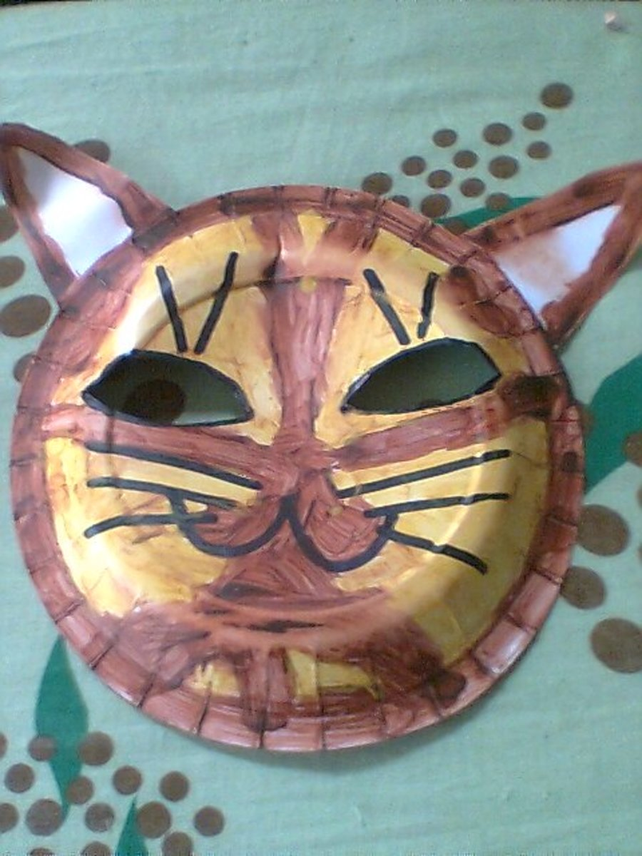 How to Make a Simple Cat Mask