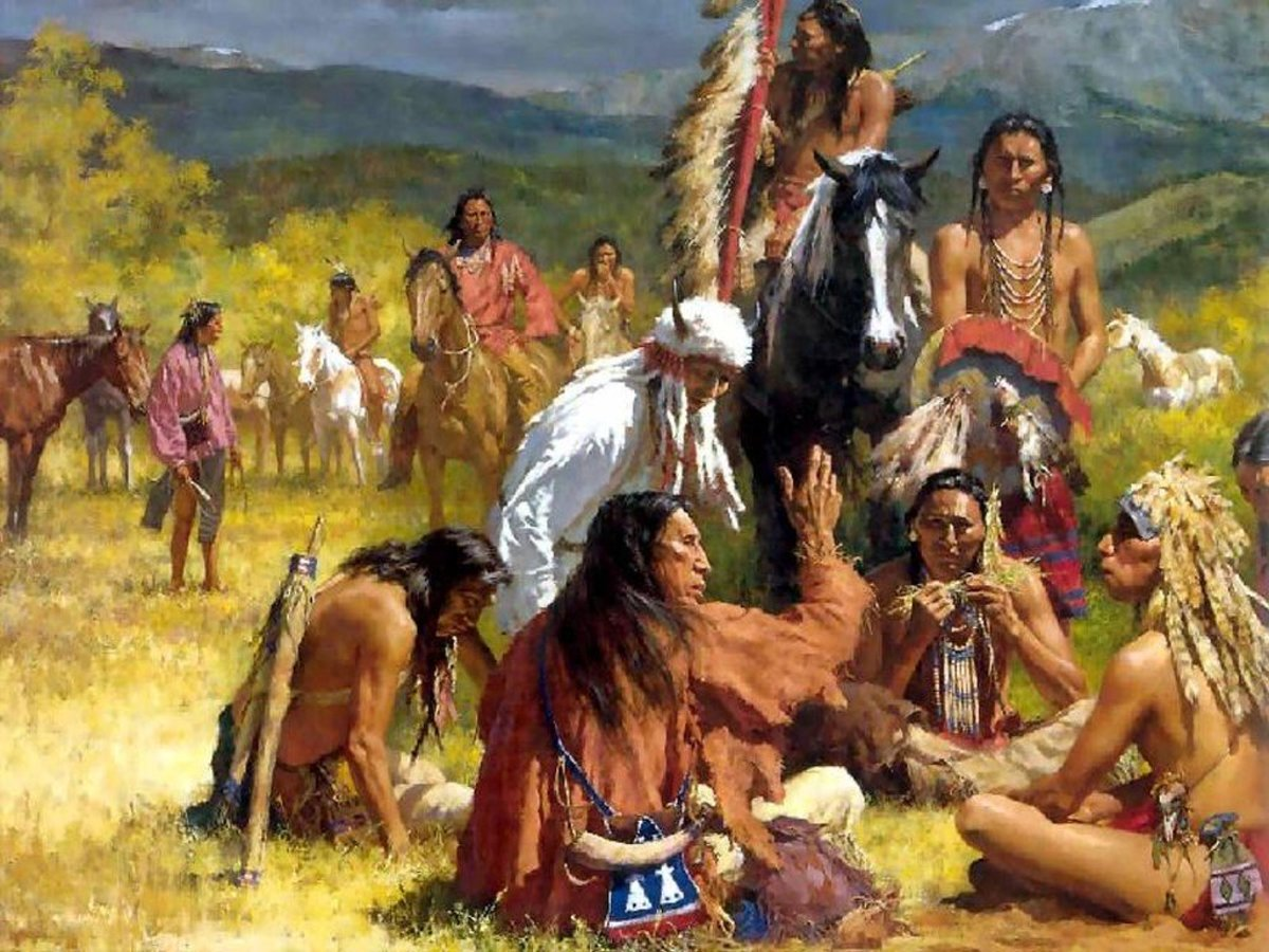 When the Native American Indians First Met the European Settlers