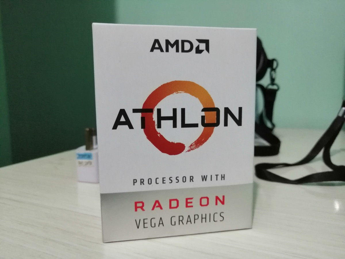 The Athlon 200GE Box