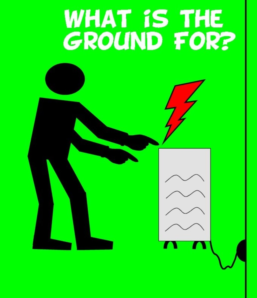What Is the Ground (Earth) Wire For? | Dengarden Old House Low Voltage Wiring Diagram on