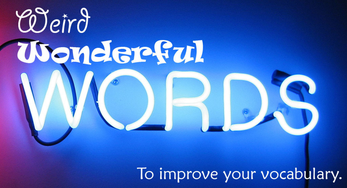 Using Weird Words Is A Wonderful Way To Improve Your Vocabulary