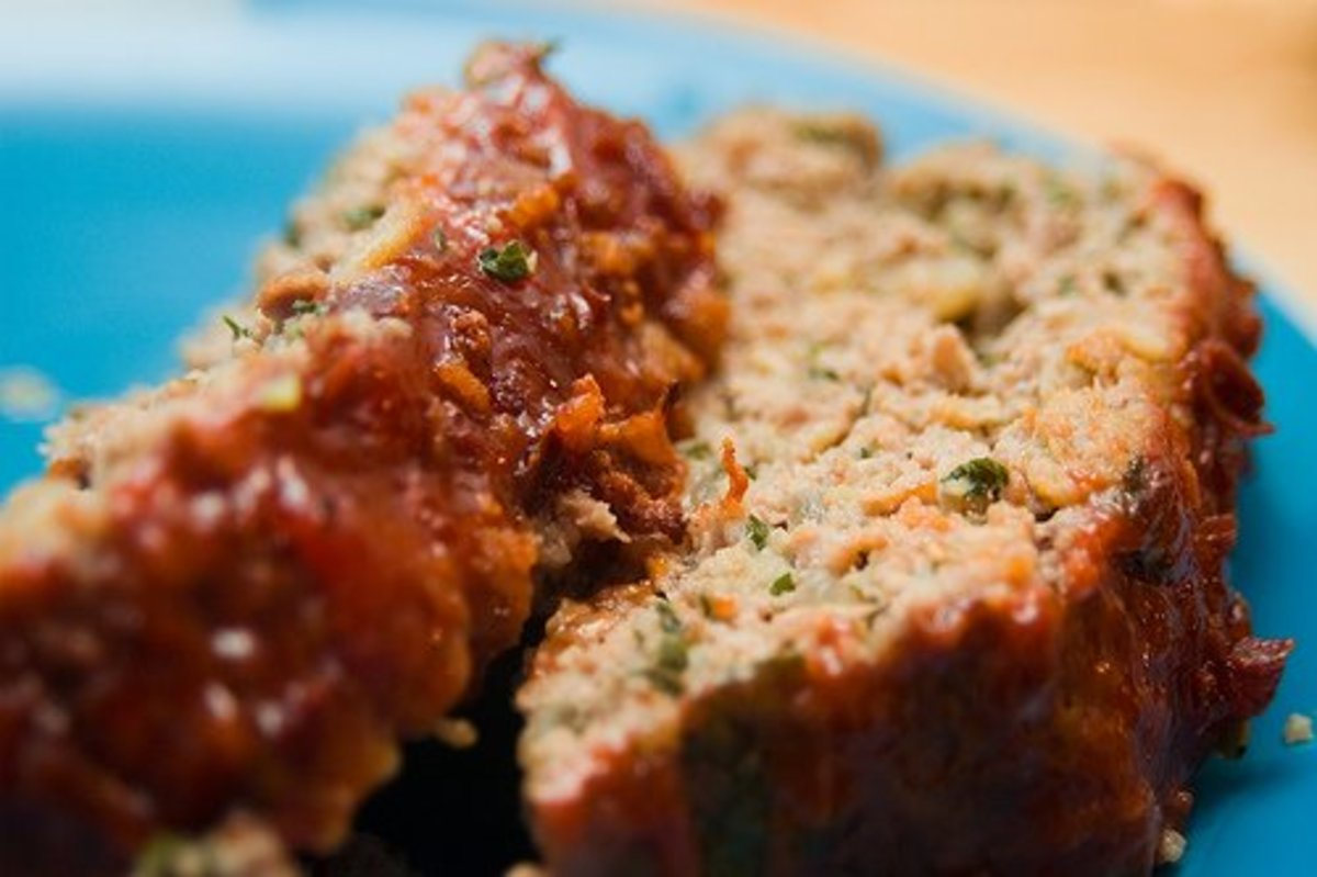 My gluten-free meatloaf recipe uses mushrooms in place of breadcrumbs.
