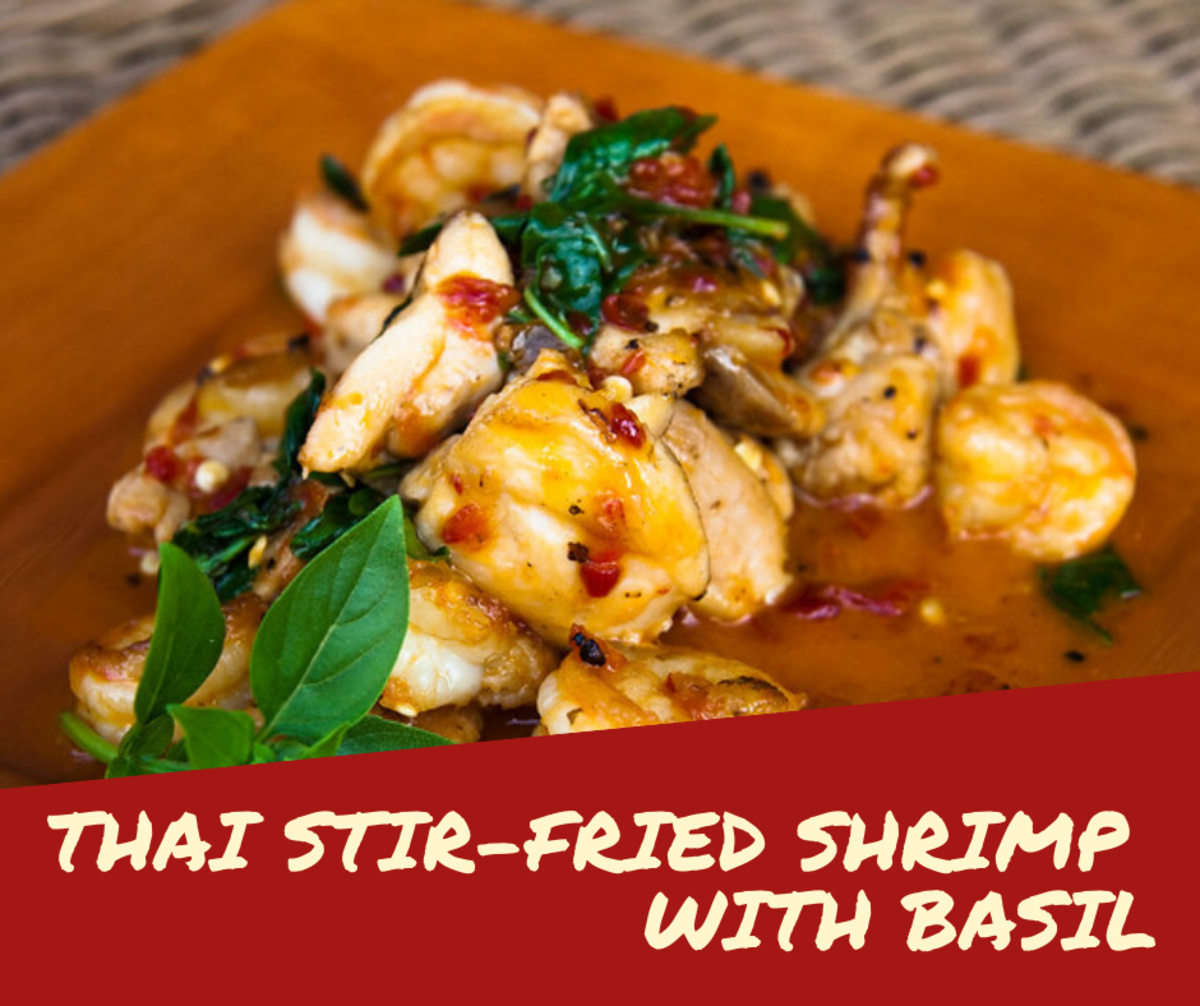 Pad Krapow Kung: Thai Stir-Fried Shrimp With Basil