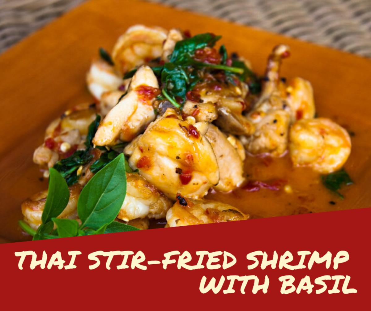 Pad Krapow Kung: Thai Stir-Fried Shrimp With Basil