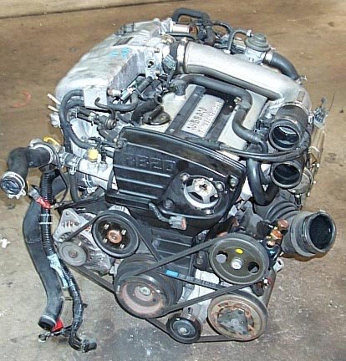 RB20 Turbo Upgrades