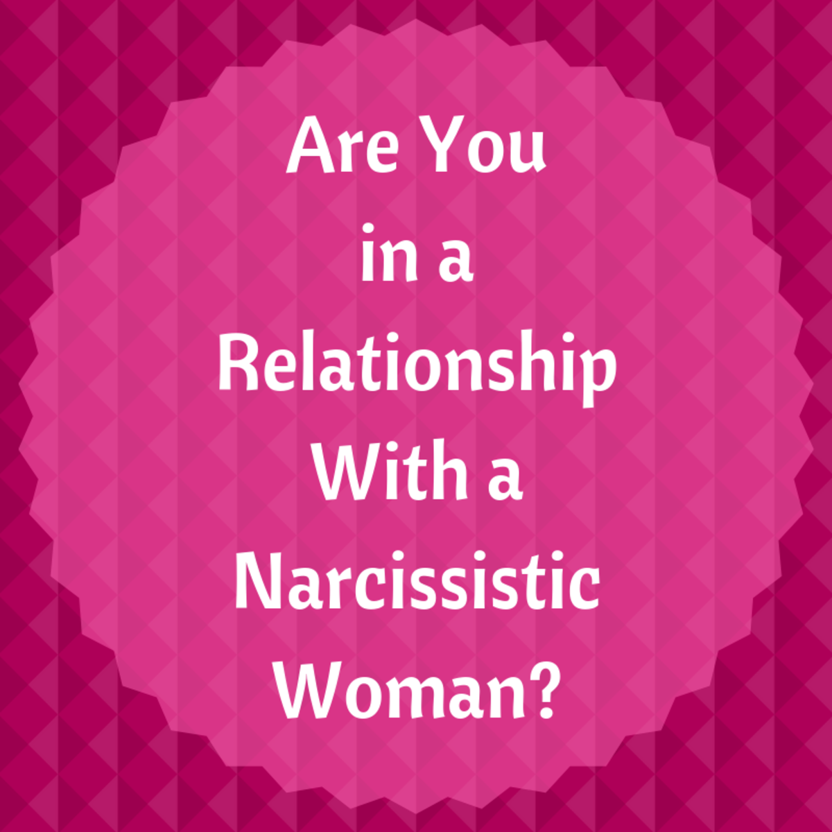 Narcissistic personality disorder is usually found in someone who is considered self-centered.