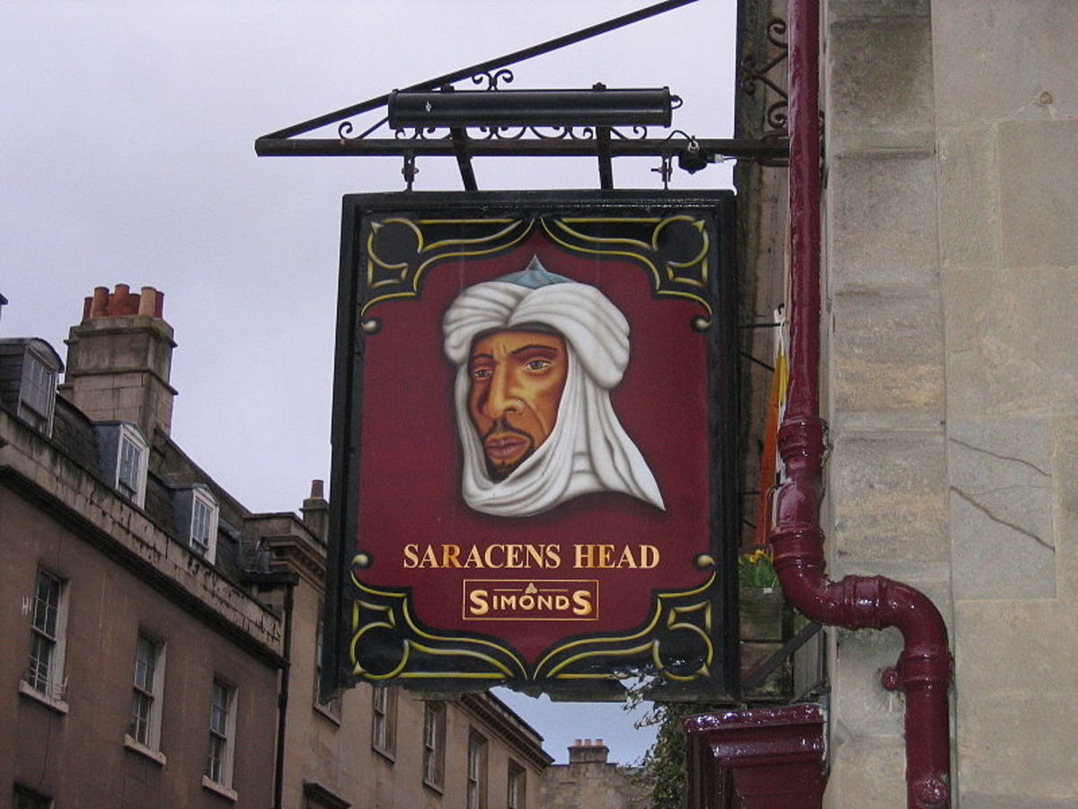 English Pub Signs - A Short History