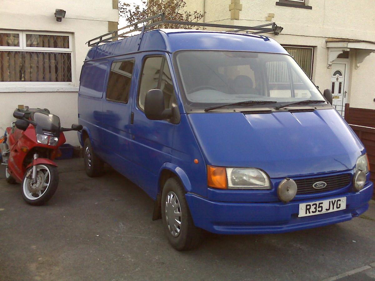 Roller Painting Your Van