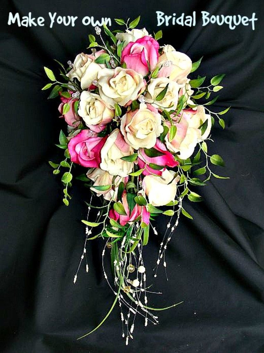 how to make your own wedding bouquet with fake flowers 2 make your own bridal flowers amp wedding bouquets holidappy 5017