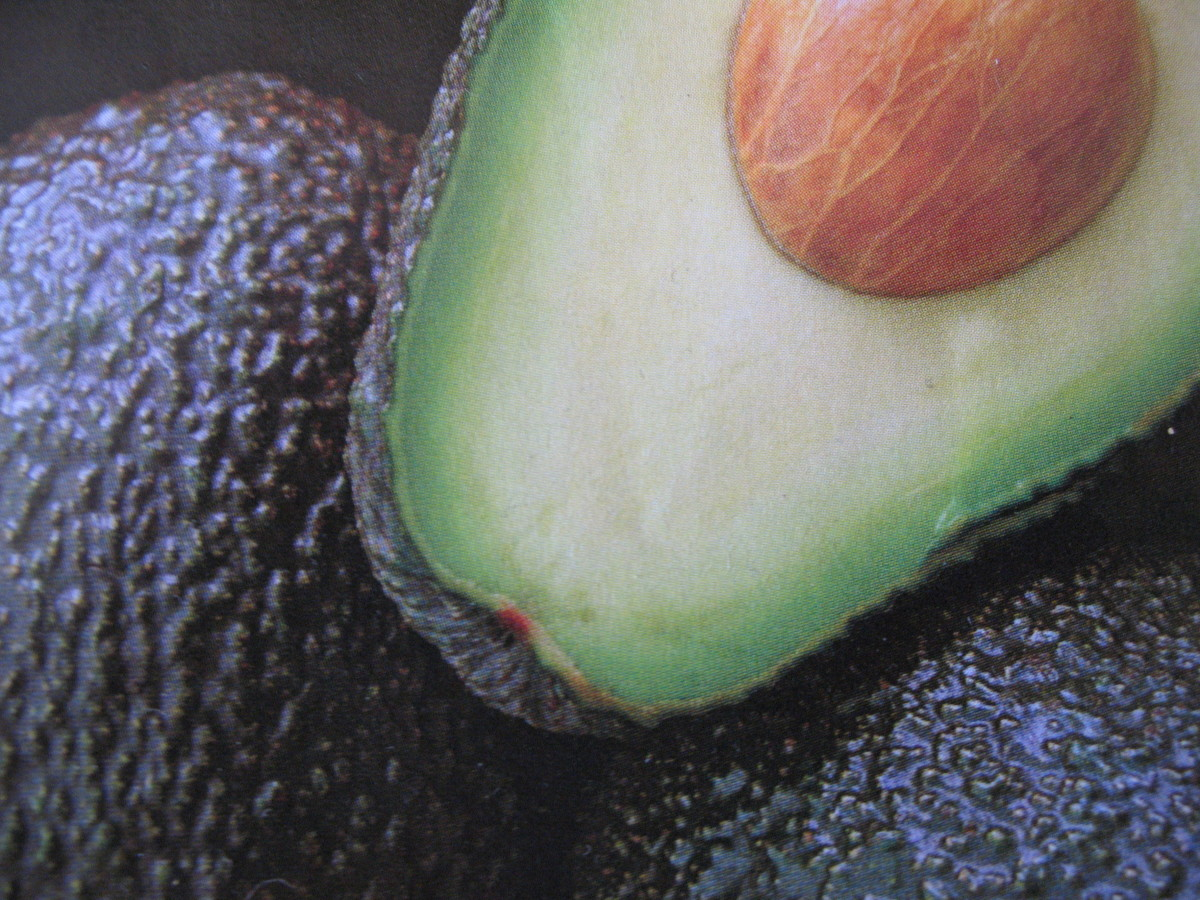 Avocado is a raw fat