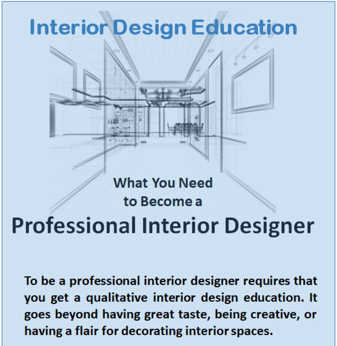 Interior design education minimum qualifications you need - How do you become an interior designer ...