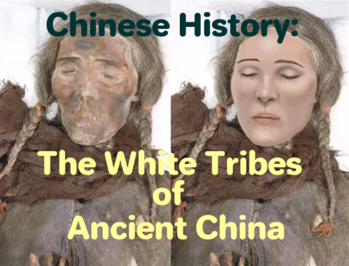 White tribes ancient China. Mummy's preserved for over 4,000 years. Chinese Mummies.