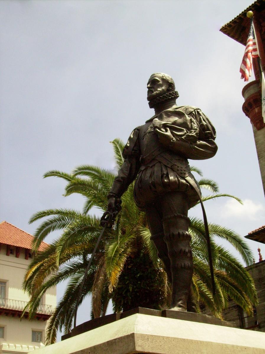 Spanish Admiral Pedro Menendez de Aviles - Founder of St. Augustine, FL