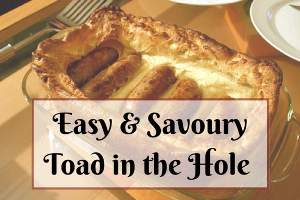 Try This Easy and Savoury Toad in the Hole Recipe