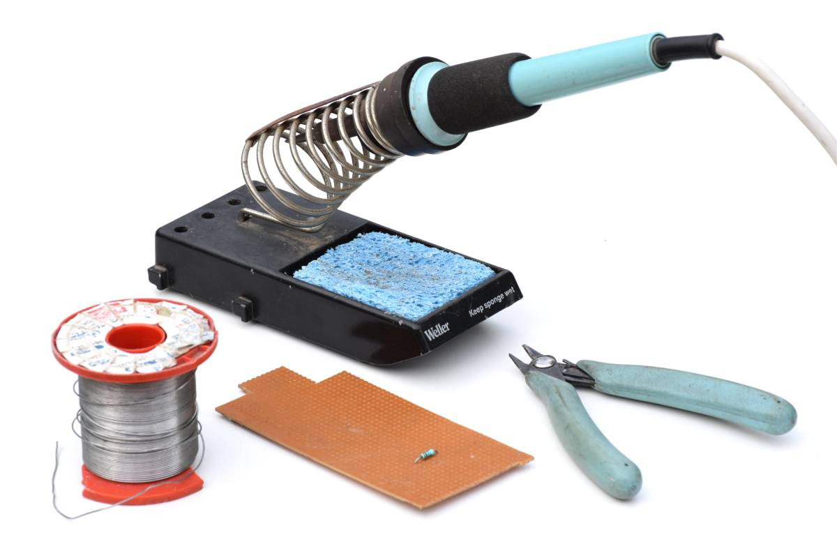 How to Solder Electronic Components and Wires