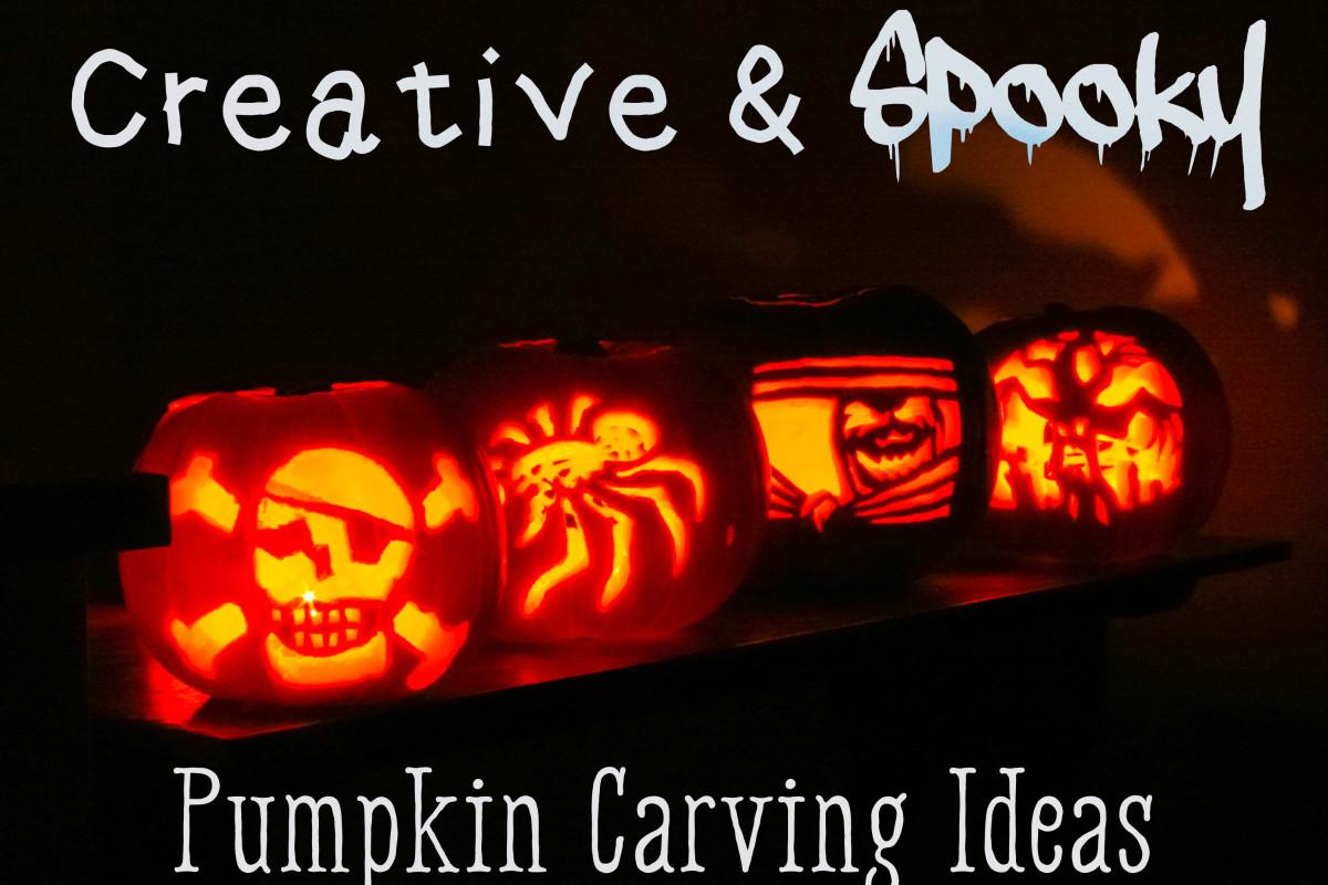Creative & Spooky Pumpkin Carving Ideas