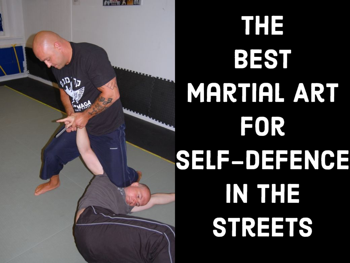 Martial Arts Moving With Your Body