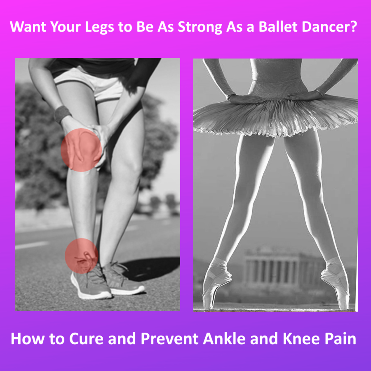 How to Cure and Prevent Ankle and Knee Pain