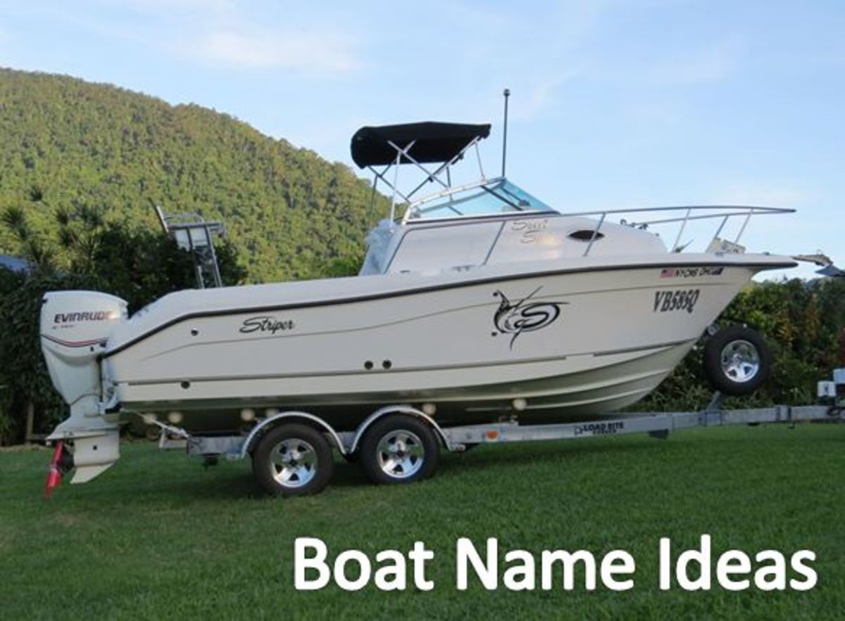 Seaswirl Striper Boat Name Ideas