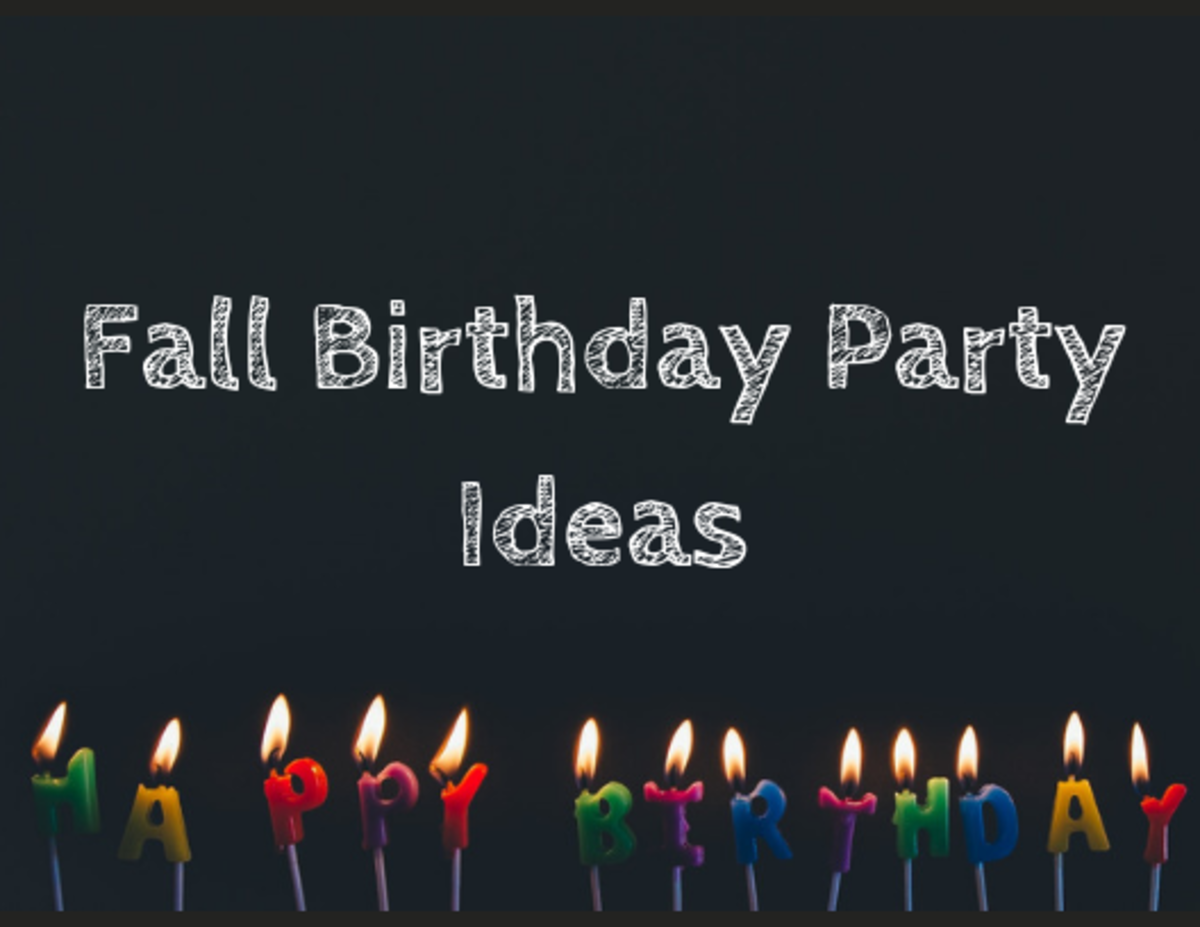 16 Party Ideas for a Fall Birthday