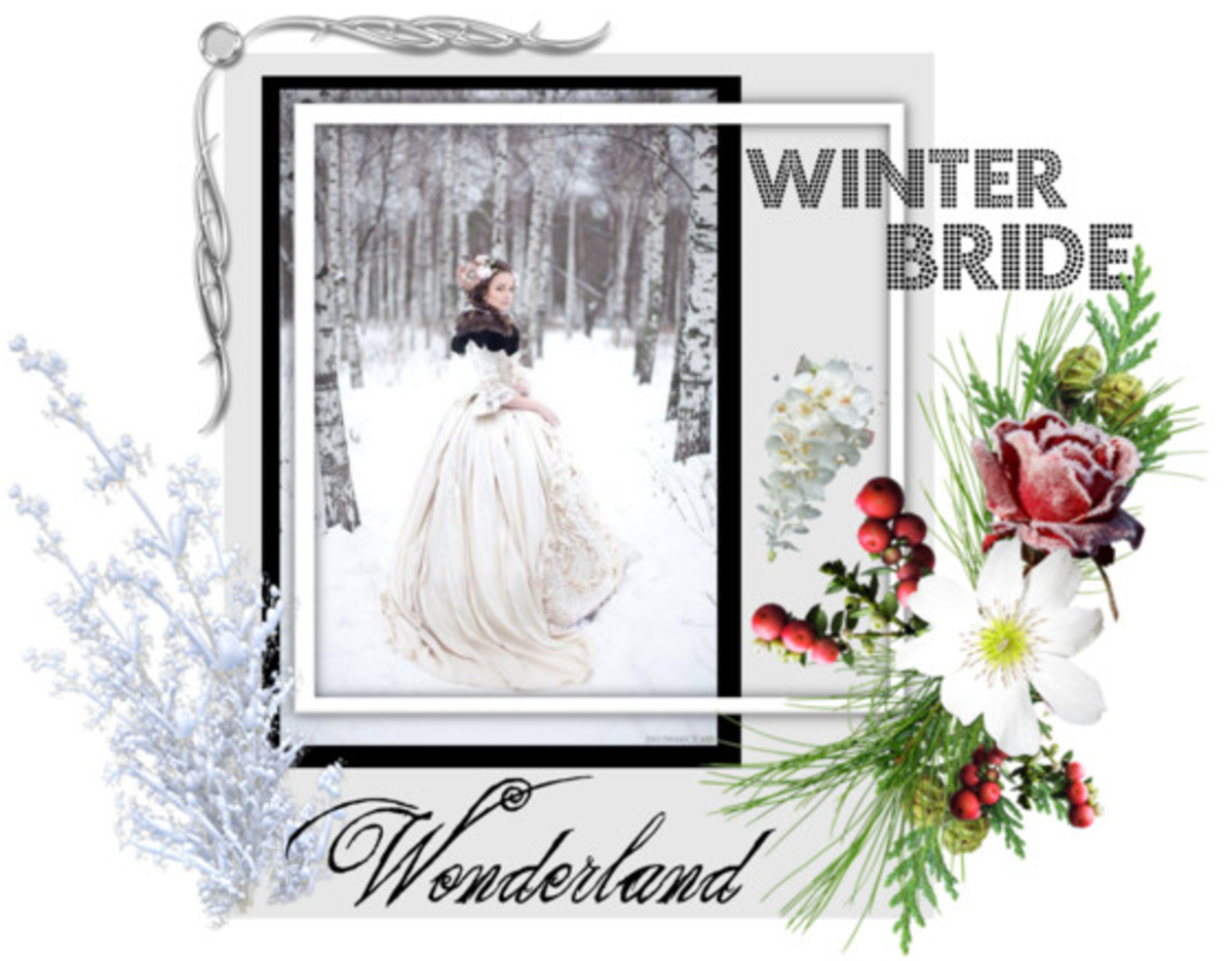 Vintage Inspired Winter Wedding  Gowns and Dresses