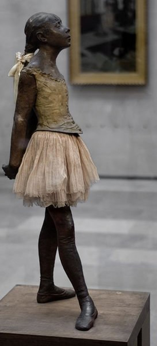 The Little Dancer by Edgar Degas, Musee D'Orsay, Paris. Photograph by Bruin, coutesy of Flickr and Wiki Commons
