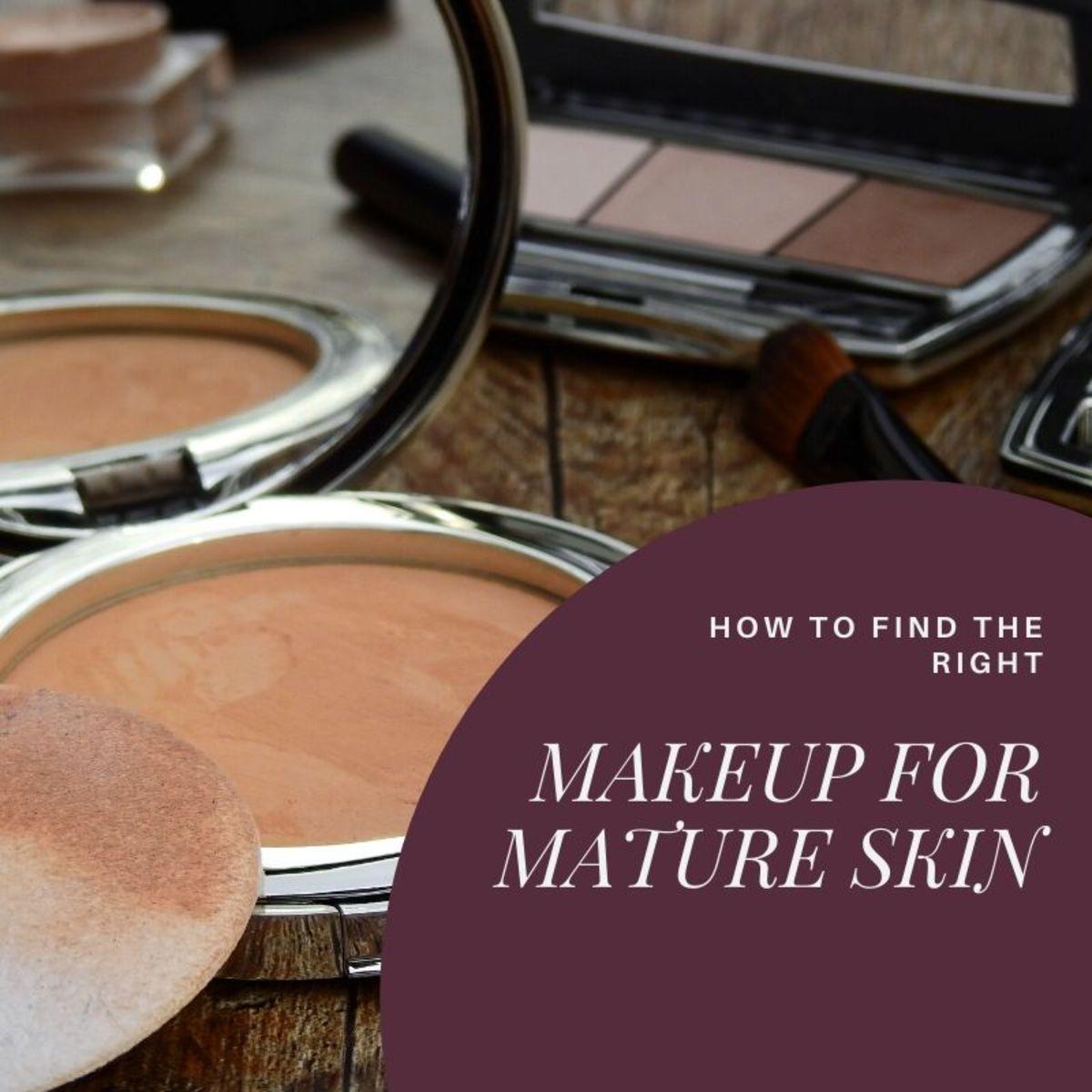 Best Makeup for Mature Skin