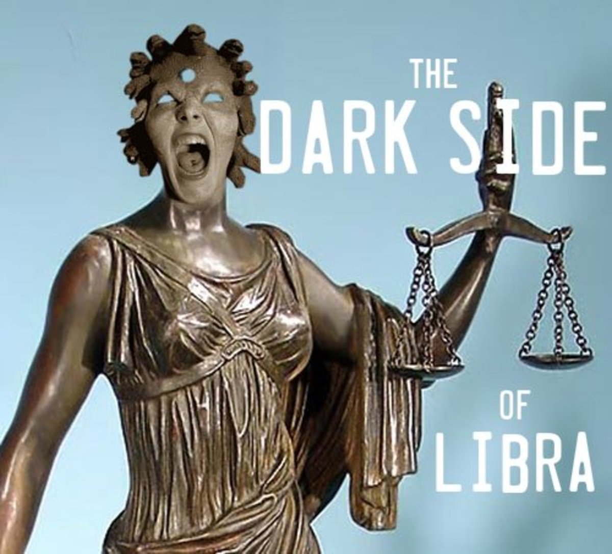 Dark Side of Libra: Dramatic, Controlling, Condescending, Repressed