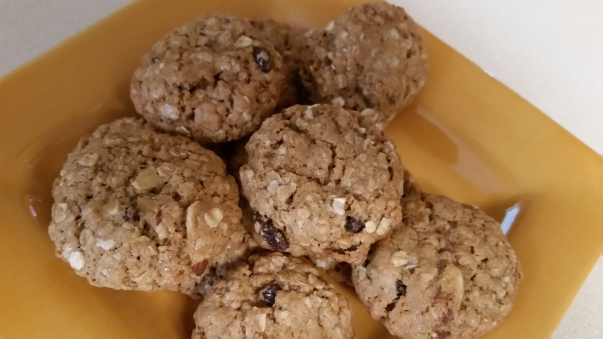 Healthy and Delicious Oatmeal Cookies