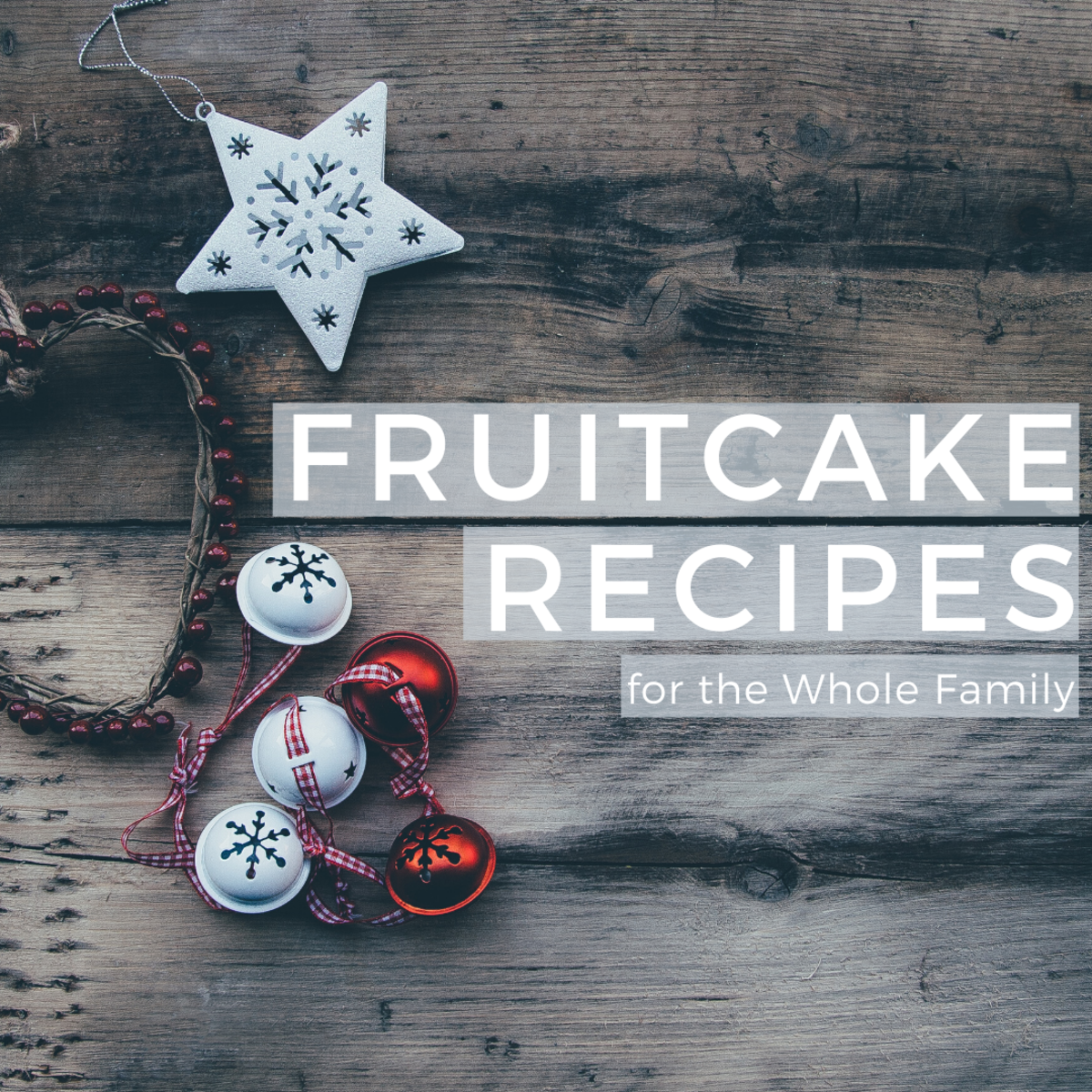 Moist Fruitcake and Fruitcake Cookie Recipes for Christmas