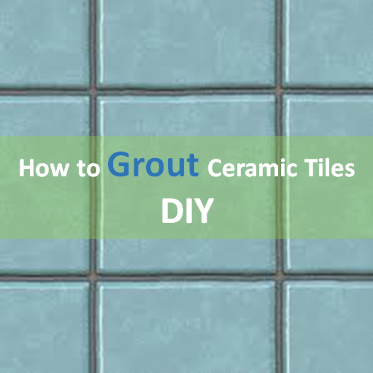 How to Apply Ceramic Tile Grout (Do-It-Yourself)