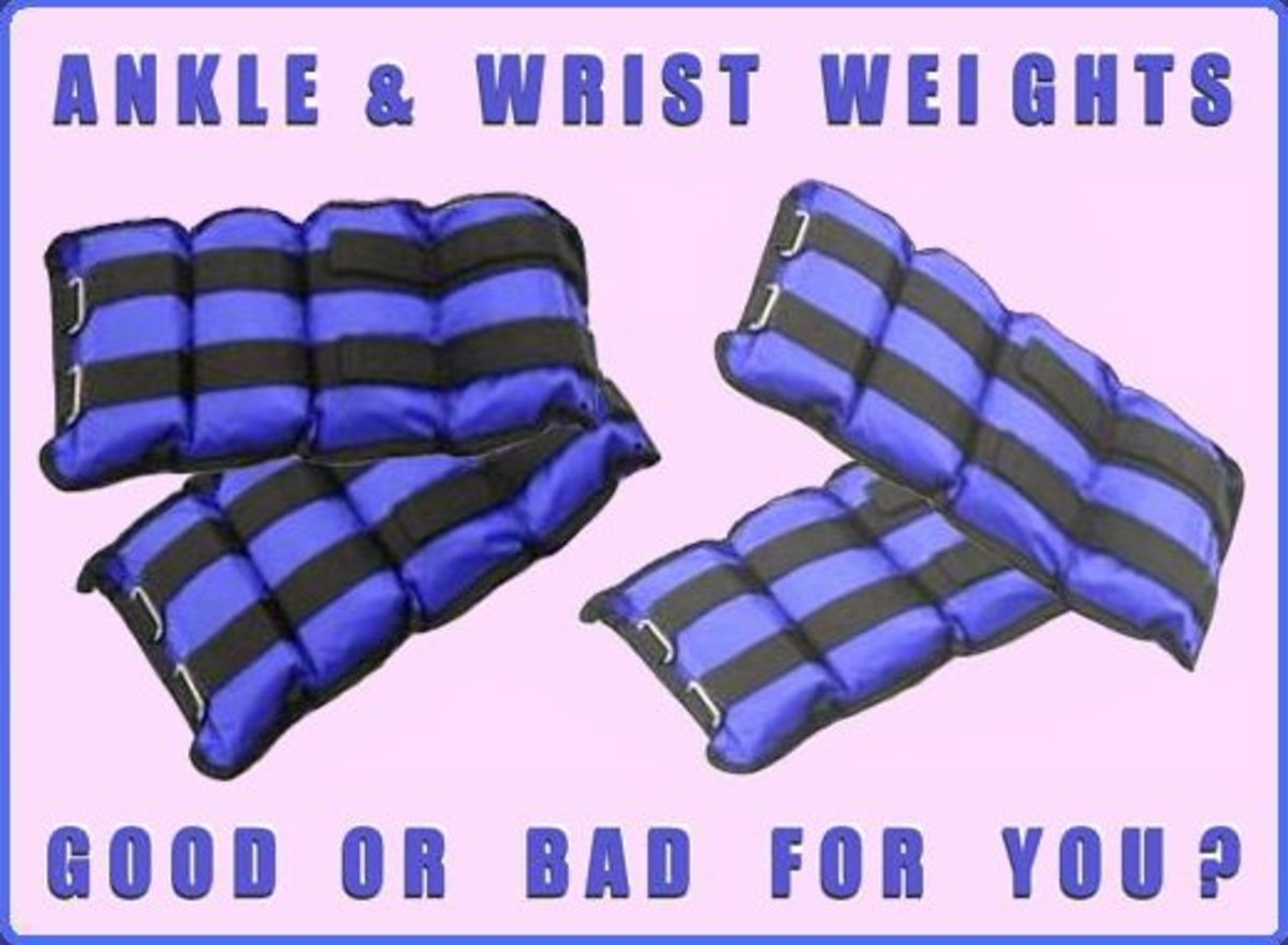 How and when to use ankle and wrist weights, that is the question.