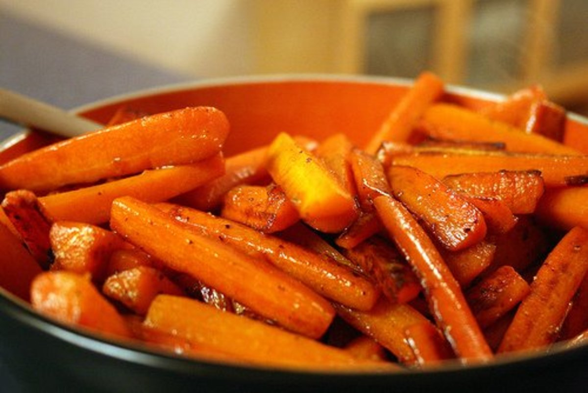How to Glaze Carrots and Other Vegetables for Side Dishes