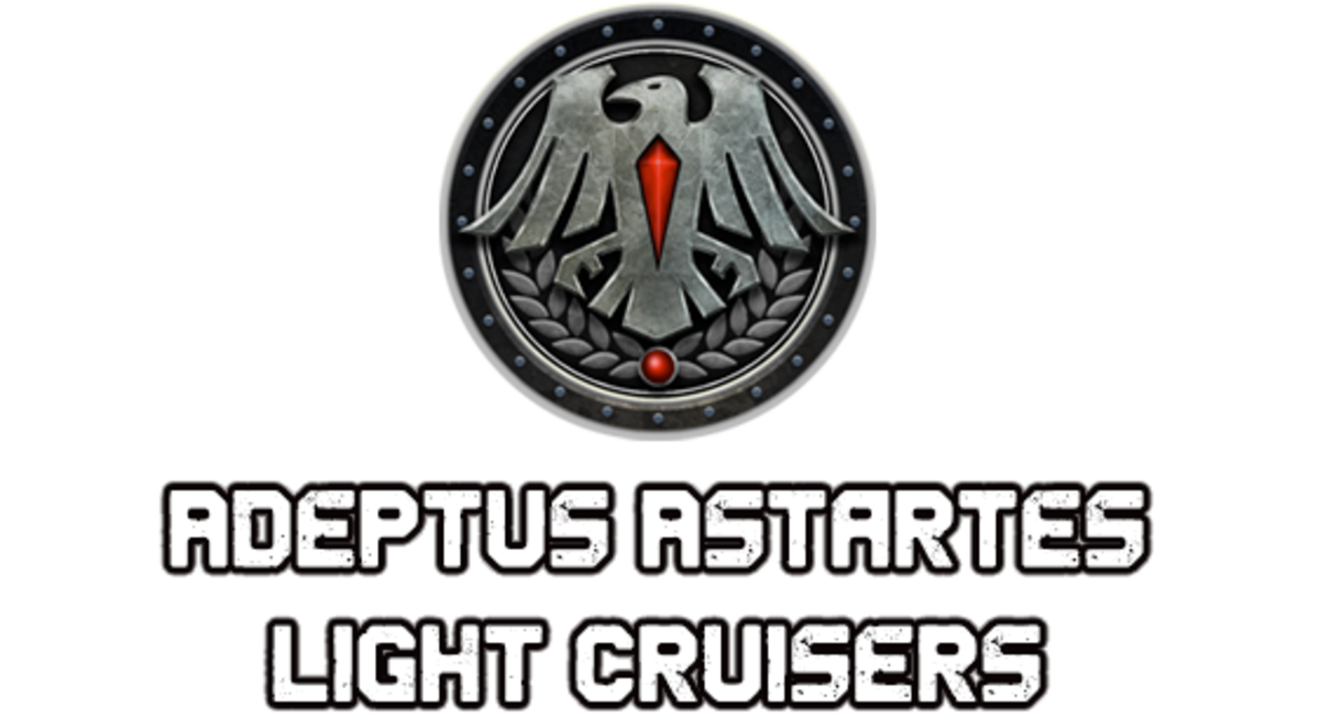 """Battlefleet Gothic: Armada II"" - Adeptus Astartes Light Cruisers [Advanced Ship Guide]"