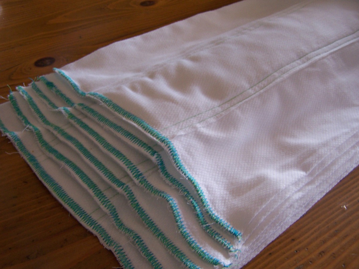 How to Sew Prefold Cloth Diapers