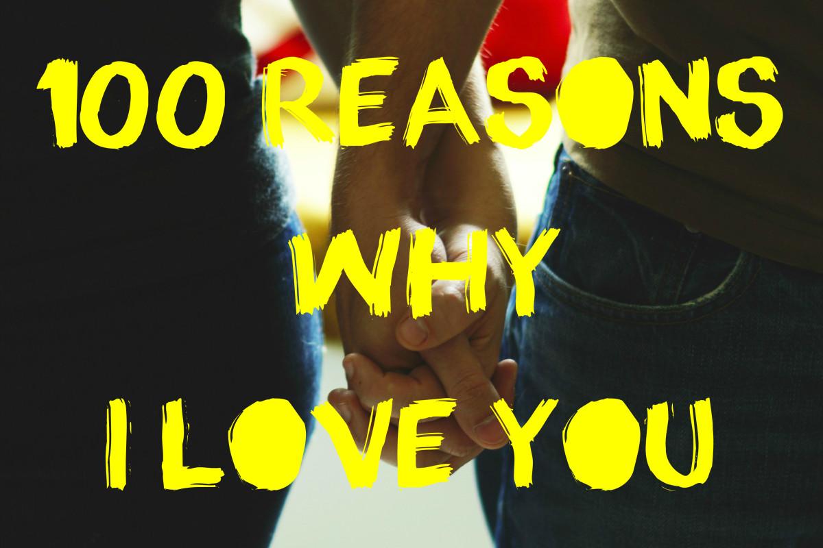 100 Reasons I Love My Boyfriend