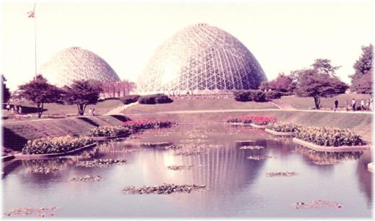 Mitchell Park Garden Domes in Milwaukee, Wisconsin